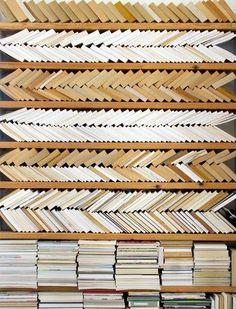 A Pretty, Impractical Way To Organize Your Bookshelf