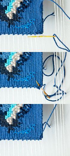 Hem Stitch Weave DIY | The Weaving Loom