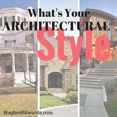 Choosing an architectural style for your custom home can be a bit overwhelming. Do you know what characterizes a particular style? Here's some information that can clear up some confusion.