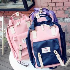 """Students fashion travel backpack   Coupon code """"cutekawaii"""" for 10% off"""