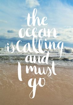 Repin if you hear the ocean calling you too. #beach #ocmd
