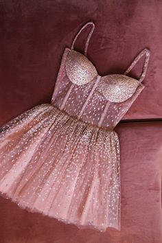 The professional tailors from wedding dress manufacturer custom this blush pink homecoming dress with any sizes and many other colors.Contact us to shop short sparkle prom dress online. Glam Dresses, Pretty Dresses, Beautiful Dresses, Short Dresses, Fashion Dresses, Formal Dresses, Pink Dresses, Glitter Dress, Pink Glitter