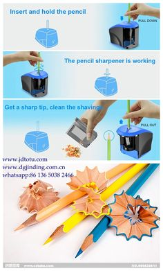 Carpenter Woodwork Pencil Sharpener Cutter Shaver Narrow Sharpening Tool Gif up