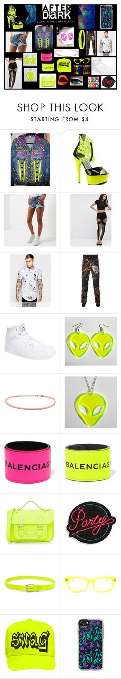 """""""BD CHIC Designs!"""" by brellad ❤ liked on Polyvore featuring Ellie, River Island, ASOS, Philipp Plein, NIKE, Forever 21, Balenciaga, The Cambridge Satchel Company, Marc Jacobs and Casetify"""