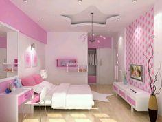 Girls Room Design, Kids Bedroom Designs, Bedroom Bed Design, Modern Bedroom Design, Bedroom Decor, Frozen Girls Bedroom, Twin Girl Bedrooms, Dream Rooms, Dream Bedroom