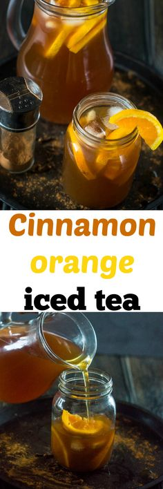 Spice infused cold cinnamon orange iced teaHere in the UK, as it stands we are experiencing a mini heatwave which I am so happy about because the summer is my favourite time of year. Even though England isn't known for it's tropical weather, I will be candid enough to admit when the weather is h