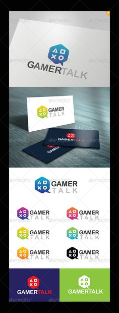 Gamer Talk Logo by LayerSky This logo design for all creative business. Consulting, Excellent logo,simple and unique concept. Logo Template FeaturesAI and EPS