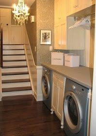 I have a laundry room. Well, it is so small I am not sure it qualifies as a room. Maybe more like a walk-in closet. I refer to it as the PIT...