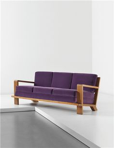 JEAN ROYÈRE, 'Croisillon' sofa