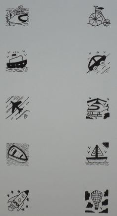 Tecnicá: tinta china. Trabajo: Ilustracion 1  Formato: 1/8 de basick