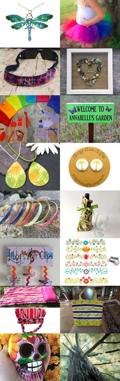 Fun In The Sun by Rosabelle Gems on Etsy--Pinned+with+TreasuryPin.com