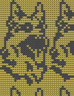 коты, кошки и другие. Knitting Charts, Knitting Patterns, Knitted Animals, Dog Pattern, Fair Isles, C2c, Dog Cat, Cross Stitch, Crochet