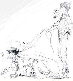 """KaiShin // DCMK // """"You're not going anywhere...Kaito."""""""