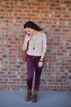 Mom on the Go Fall Look from Heather Brown of My Life Well Loved