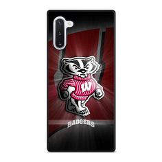 WISCONSIN BADGER LOGO Samsung Galaxy Note 10 Case Cover  Vendor: Favocase Type: Samsung Galaxy Note 10 case Price: 14.90  This premium WISCONSIN BADGER LOGO Samsung Galaxy Note10case will create premium style to yourSamsung Note10 phone. Materials are from durable hard plastic or silicone rubber cases available in black and white color. Our case makers customize and design each case in high resolution printing with best quality sublimation ink that protect the back sides and corners of phone… Best Resolution, Wisconsin Badgers, Galaxy Note 9, Black And White Colour, Silicone Rubber, Black Rubber, High Quality Images, Samsung Galaxy, Plastic