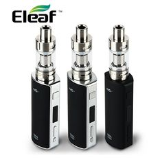 100% Original 60W Eleaf iStick Kit with Eleaf Melo 2 Tank 4.5ml Atomizer and Eleaf istick TC60W BOX Mod Electronic Cigarette #Affiliate