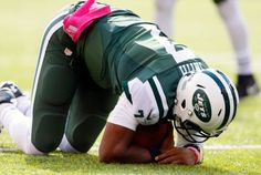 The Jets are like TNT…they know drama… The sound you just heard was the sound of a career tearing oops I meant an ACL tearing . Geno Smith who was forced out of Sunday's game with…