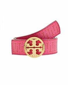Tory Burch Leather Printed Belt $185.00  $99.90