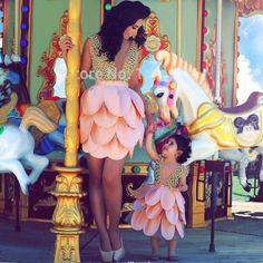 lotus flower dress