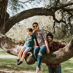 """21.7k Likes, 338 Comments - Genevieve Padalecki (@nowandgen) on Instagram: """"Tom, Jared, and our favorite tree ✌️ (Shep better be snoozing! )"""""""