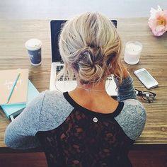 7 Ways to Work the Top Bun - Beauty Tips