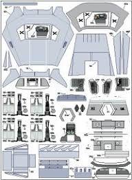 modelismo en papel planos gratis ile ilgili görsel sonucu