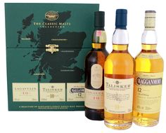 The Classic Malts Collection Strong 3x0.2L 42,93% - Schotland