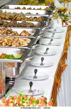 Catering your own wedding …