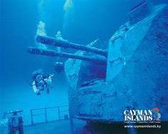 Wreck Diving off Cayman Brac