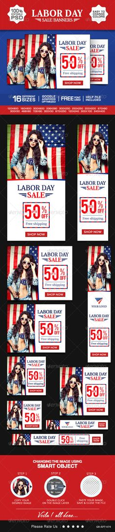 Labor Day Special Banners Template PSD | Buy and Download: http://graphicriver.net/item/labor-day-special-banners/8637879?WT.ac=category_thumb&WT.z_author=doto&ref=ksioks