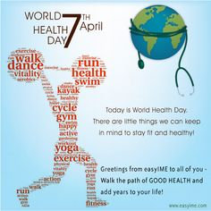 #easyIME wishes #WorldHealthDay!!