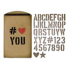 Tim Holtz Sizzix GIFT CARD BAG Thinlits Die 662687