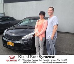 I am excited to say that I just purchased my second car from Kia of East Syracuse. My husband and I would like to thank Michael Secules for making it a comfortable experience. Thank You for making it possible for me to purchased my new 2015 Kia Rio. I recommend Kia of East Syracuse to all those looking to buy.- John Prall, Wednesday, July 01, 2015  http://www.kiaofeastsyracuse.com/?utm_source=Flickr&utm_medium=DMaxxPhoto&utm_campaign=DeliveryMaxx