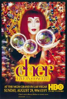 Cher: Live in Concert 11x17 TV Poster (1999)