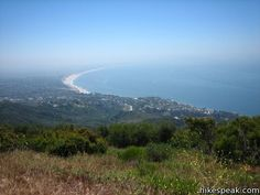 For a great day hike with beautiful views of the Santa Monica Mountains and the Pacific Ocean, Check out the Parker Mesa Overlook in Topanga State Park. There are several variations on this hike, all with spectacular views.