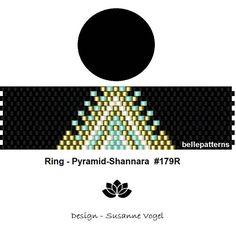 peyote ring patternPDF-Download 179R beading pattern