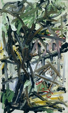 """""""Corinne 'Michael' West Took a male name to avoid segregation 'Tree' 1955 American Abstract Expressionism"""" Abstract Expressionism, Expressionist Painting, Fine Art, Abstract Painting, Nature Art, Painting, Abstract, Cincinnati Art, Abstract Painters"""