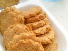 材料4つ★生おからの簡単きな粉クッキーの画像