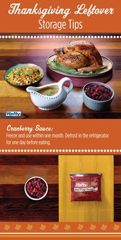 Have leftovers stay good for months after Thanksgiving!