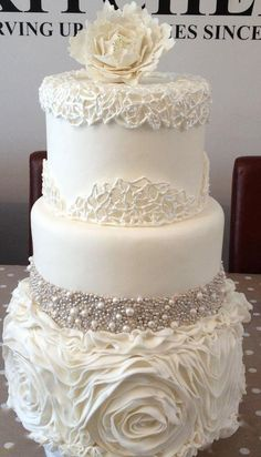 like us on facebook at http://facebook.com/erikadardenevents for more wedding inspiration. wedding cake