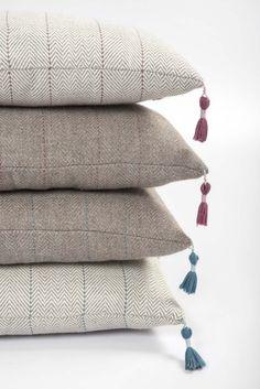 100% Baby alpaca hand woven cushions by Mrs Lovegood
