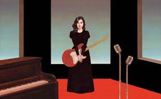 Pierre Mornet. PJ HARVEY - Libération. Portrait of PJ Harvey for the release of her new album