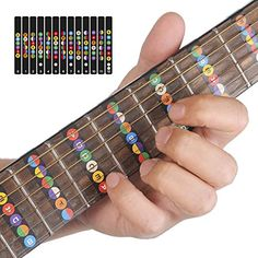 Sports & Entertainment Yibuy Guitar Fingerboard Dots Colorful Abalone Diamond Makers Set Of 100 Large Assortment