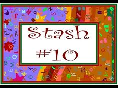 Cross Stitch Flosstube #25 Pattern Stash 10