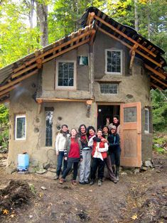 MUD GIRLS!  This is a network of women builders on the west coast of B.C., Canada, specializing in using local, natural and recycled materials.. wow!!