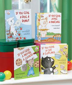 """""""If You Give"""" Books