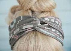 Resultado de imagen para accesorios para el cabello diy paso a paso