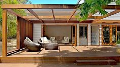 back of a double story weatherboard renovation - Google Search