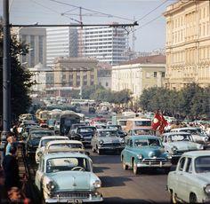 Советская Москва. 1968 год.Soviet Moscow. 1968.