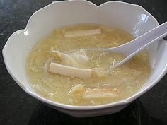 Little Corner of Mine: Fish Paste Tofu Egg Drop Soup
